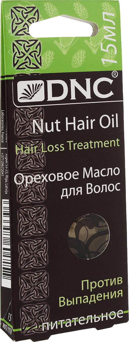 DNCОреховое масло для волос против выпадения 15 мл DNC