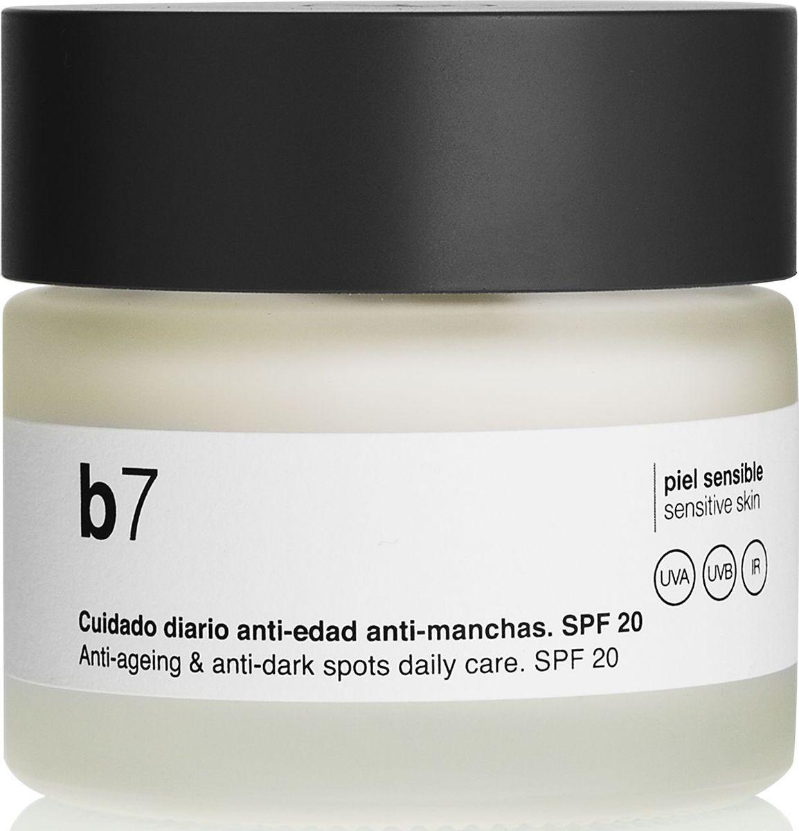 Bella Aurora Антивозрастной крем для лица выравнивающий тон кожи SPF 20, 50 млBA4051100Ежедневный антипигментный и антивозрастной уход для чувствительной и нежной кожи. Депигментирующий эффект, уменьшает темные пятна и другие изъяны, выравнивает тон кожи, обеспечивает сияние и интенсивное увлажнение. Регенерирует кожу, уменьшает мелкие и мимические морщины. Укрепляет и восстанавливает естественную систему самозащиты кожи от внешних факторов. Успокаивает, смягчает, защищает и увлажняет кожу. Уменьшает покраснение.
