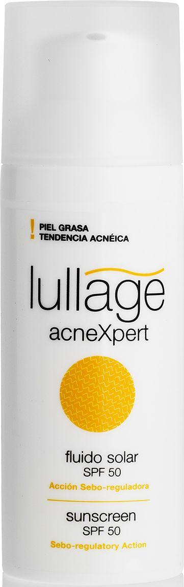 Lullage Солнцезащитный флюид для лица SPF 50, 50 млL412500Продукт с высокой степенью защиты от солнечного излучения для жирной кожи, склонной к акне. Регулирует секрецию кожного сала и предотвращает появление дефектов, пятен и других повреждений кожи, предупреждает преждевременное фотостарение. Легкая текстура не оставляет ощущения липкости. Защищает от UVA, UVB-излучения.