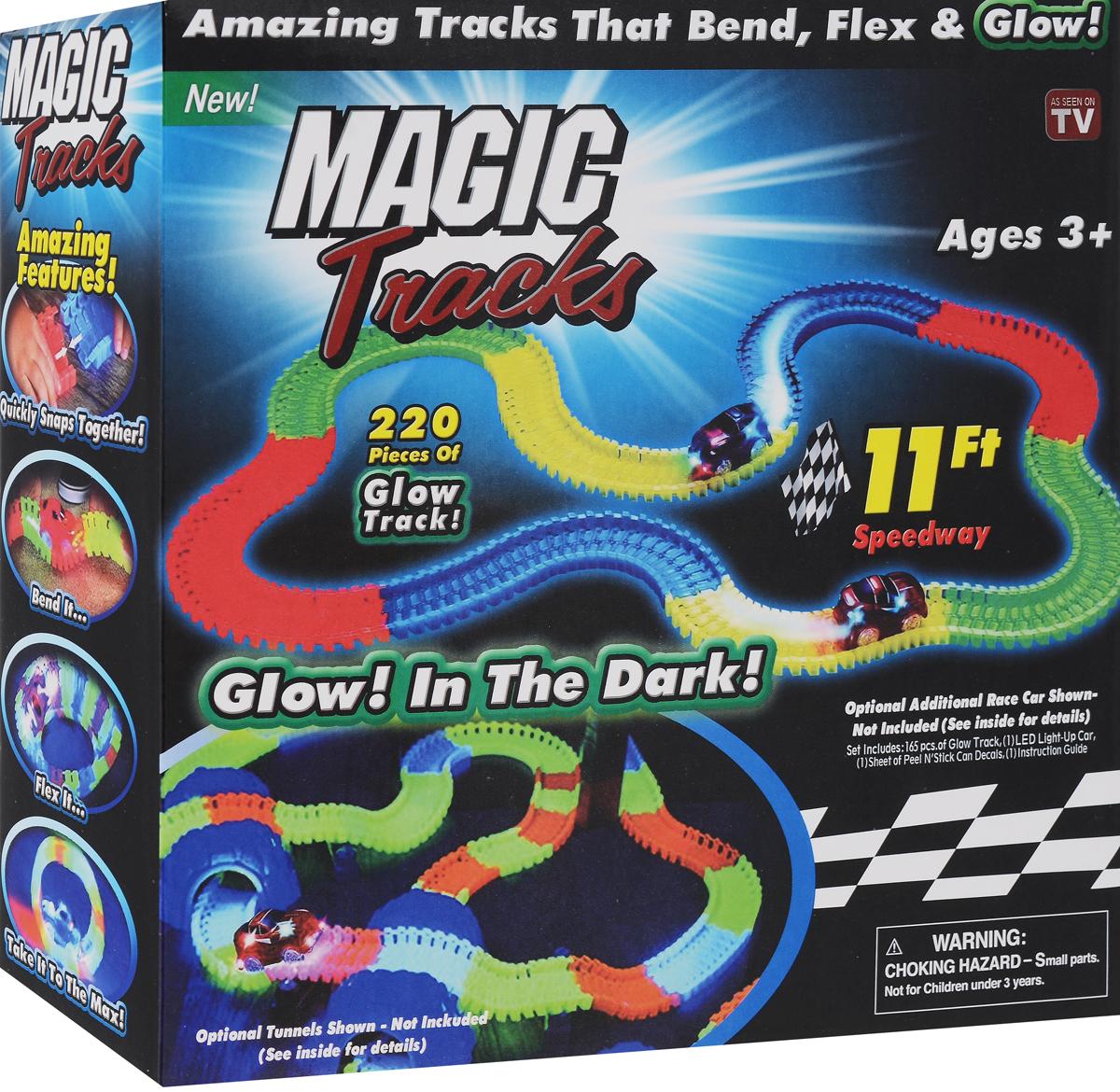 Волшебная трасса Magic tracks 220 деталей + 1 гоночная машина