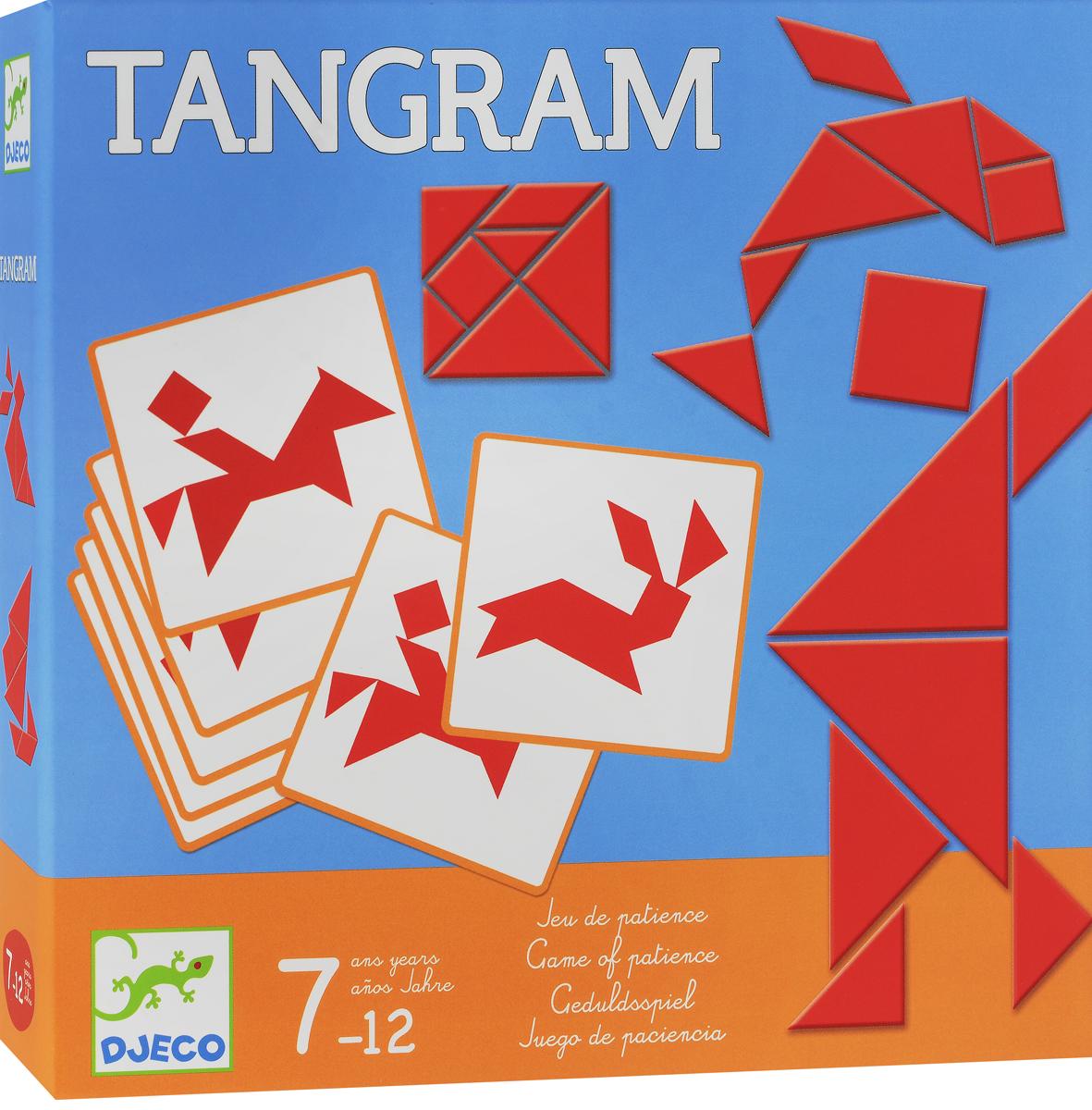 Djeco Обучающая игра Танграм спортивный инвентарь djeco игра резиночка зайчик page 7