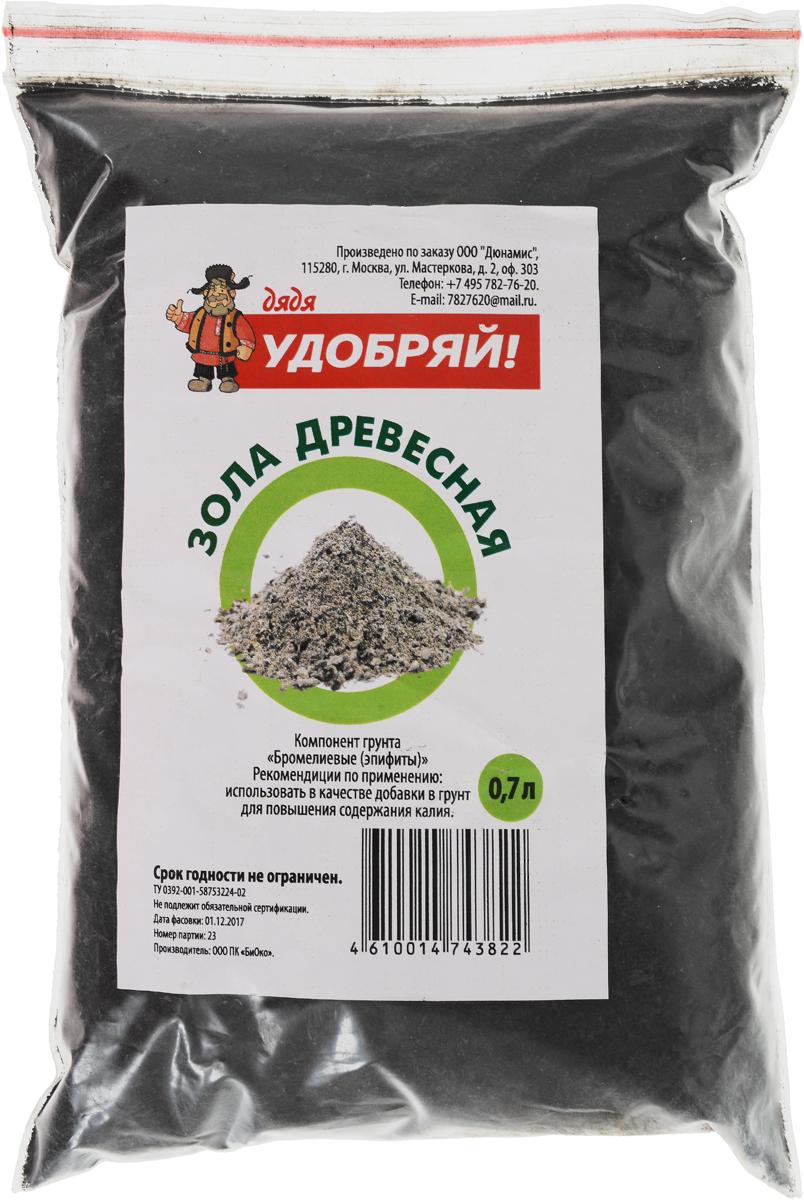 Зола древеснаяДядя Удобряй, 0,7 лДУ-008Древесная зола Дядя Удобряй предназначена как калийное натуральное удобрение.