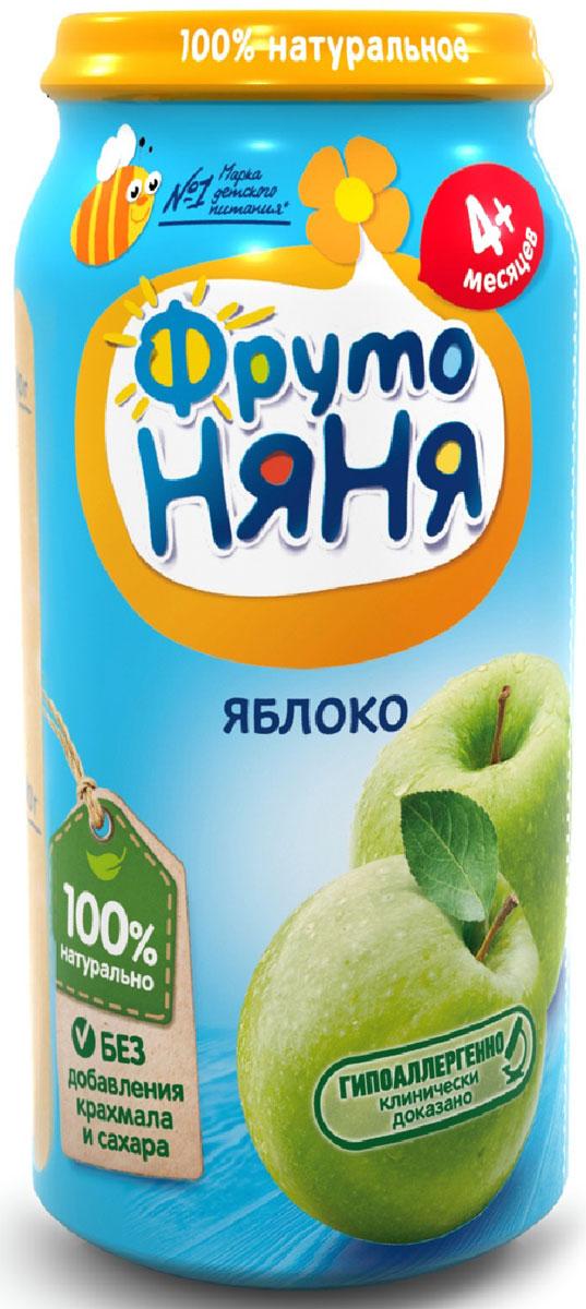 ФрутоНяня пюре из яблок с 4 месяцев, 250 г фрутоняня пюре из яблок и малины со сливками с 6 месяцев 250 г