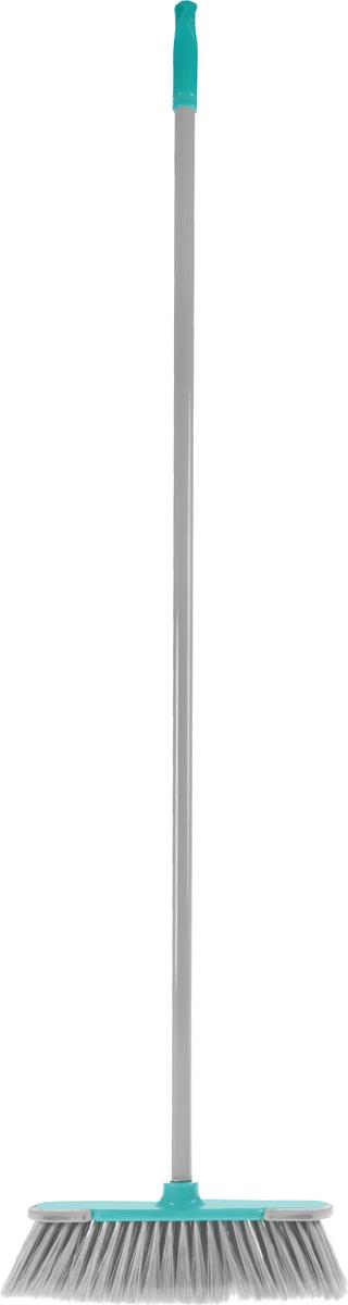 Еврошвабра Home Queen, со съемной ручкой, цвет: серый набор форм для заливного home queen с крышками 3 шт