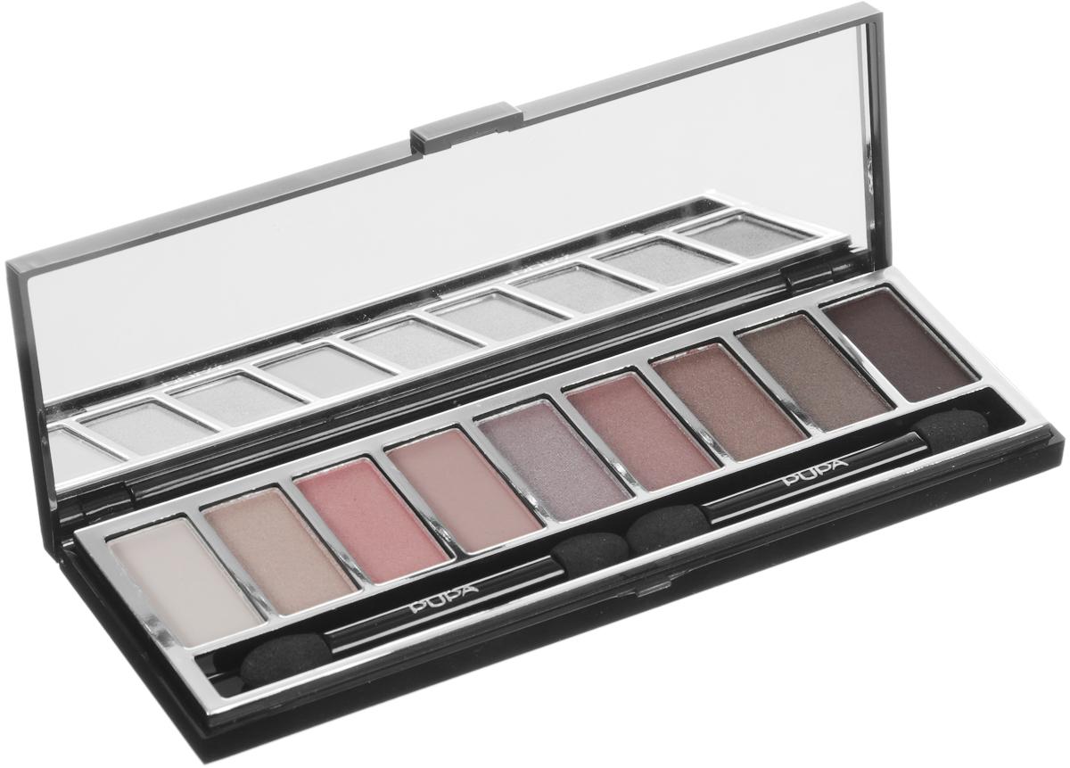 PUPA Набор теней для век Pupart. Eyeshadow Palette, тон №07 романтичные оттенки, 8 г040005007
