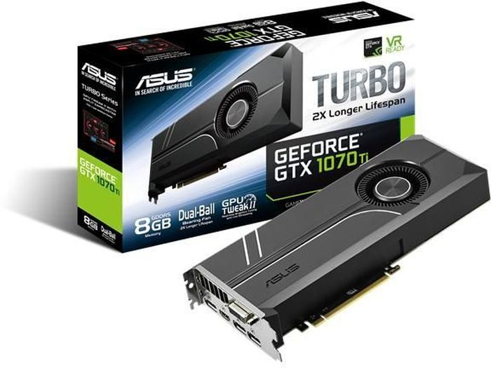 ASUS GeForce Turbo GTX 1070 Ti 8GB Видеокарта