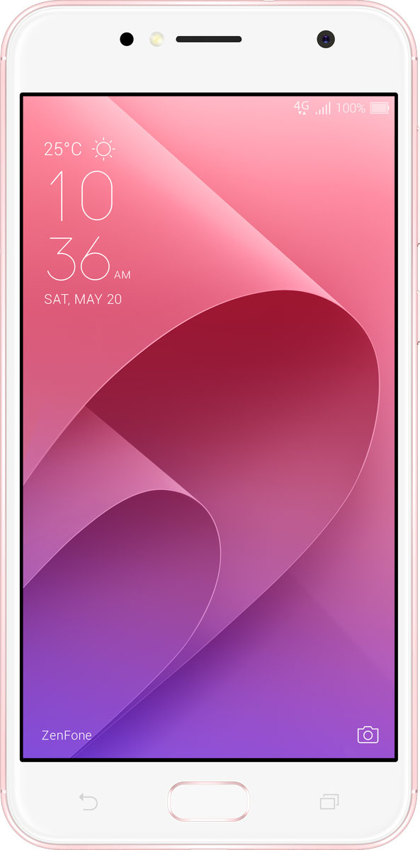 ASUS ZenFone Live ZB553KL, Rose Pink (90AX00L3-M01110) сотовый телефон asus zenfone live zb553kl 16gb pink