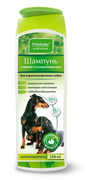 Шампунь Пчелодар для короткошерстных собак, с пергой и хвоей, 250 мл1045Шампунь с пчелиной пергой и экстрактом хвои для короткошерстных собак разработан специально для постоянного ухода за шерстью и поддержания здоровья кожи. Входящие в состав шампуня натуральные компоненты (перга, экстракт хвои и сбор трав) оказывают выраженное антисептическое, успокаивающее и дезодорирующее действие на кожу животного, глубоко питают, увлажняют и стимулируют рост шерстного покрова; помогают сократить период линьки и предотвратить чрезмерное выпадение шерсти. Шампунь регулирует работу сальных желез и помогает справиться с неприятным запахом животного. При регулярном применении шампуня остевой волос и подшерсток насыщаются питательными веществами (витаминами, микро- и макроэлементами, аминокислотами), восстанавливаются изнутри, обновляются и выглядят ухоженными, блестящими и шелковистыми. Натуральные компоненты Шампуня с пчелиной пергой и экстрактом хвои позволяют применять его для животных с чувствительной, склонной к аллергическим реакциям коже, а также щенкам.Состав: вода очищенная, пчелиная перга, натрия лаурет сульфат, кокамидопропил бетаин, кокамид ДЕА, пальмитамидопропилтримониумхлорид, цетримониум хлорид, Д-пантенол, динатрий ЭДТА, экстракты трав (люцерна, зверобой, крапива), парфюмерная композиция, лимонная кислота, метилхлороизотиазолинон и метилизотиазолинон.Показания:шампунь применяют для бережного ухода за шерстью и кожей животных. Рекомендовано использовать при тусклой, потерявшей блеск шерсти; при затянувшейся линьке и шерсти, склонной к выпадению; при «проблемной» коже, склонной к дерматитам, раздражениям и перхоти, и при имеющихся на коже ранах, ссадинах и расчесах; при появлении неприятного специфического запаха от животного.Способ применения:шерсть животного полностью смочить теплой водой, нанести небольшое количество шампуня, втирая до образования пены. После смыть водой и высушить.Уважаемые клиенты!Обращаем ваше внимание на возможные изменения в дизайне упаковки.