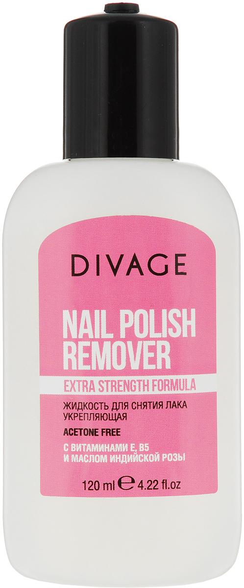 Divage Nail Care Spa - Жидкость для снятия лака с маслом розы divage жидкость для снятия лака с маслом розы nail care spa 120 мл