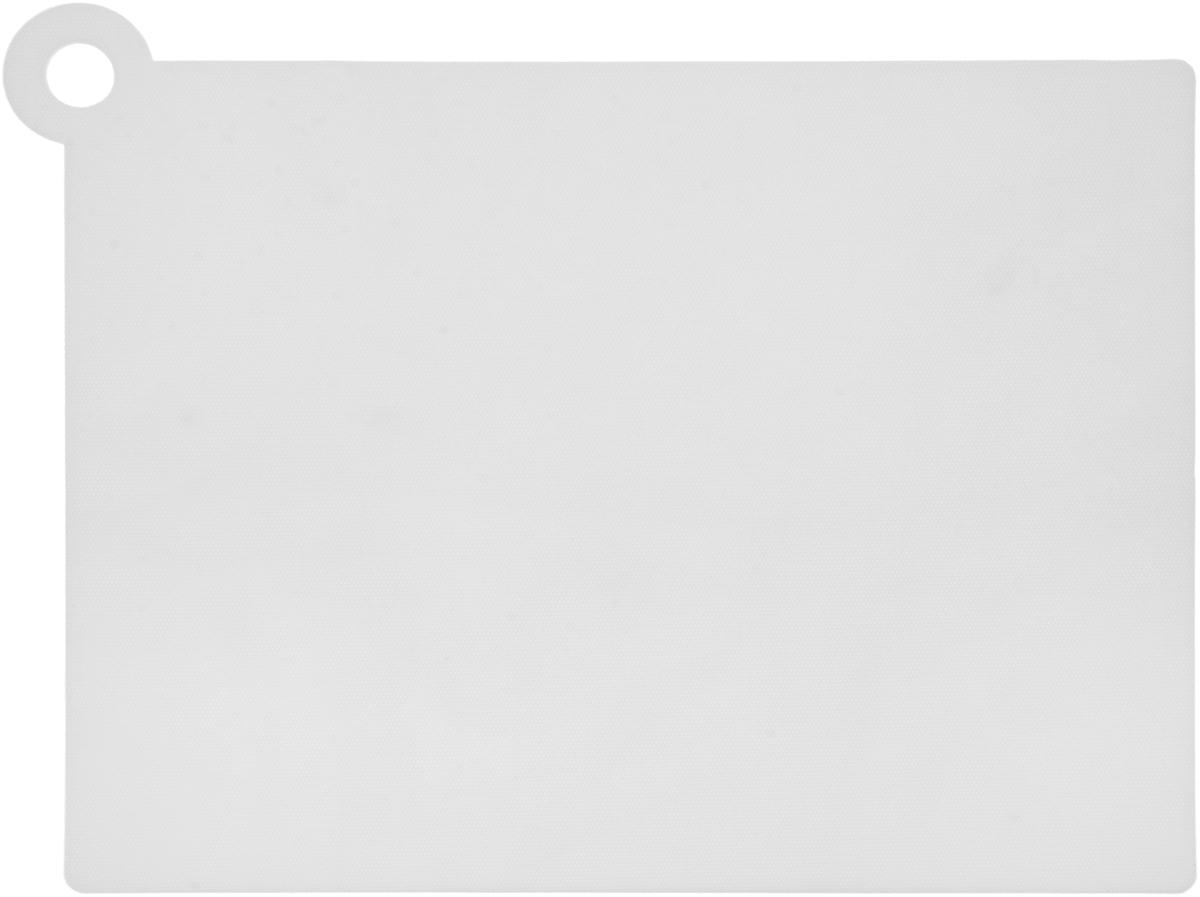 Коврик для резки Zeller, цвет: белый, 39 х 30,7 см26118_белыйКоврик для резки Zeller выполнен из гибкого пищевого пластика, что позволяет удобно высыпать нарезанные продукты. Изделие не впитывает запах продуктов, имеет антибактериальную поверхность, отличается долгим сроком службы. Ножи не затупляются при использовании. Можно использовать обе стороны коврика. Устойчив к деформации и высоким температурам. Такой коврик понравится любой хозяйке и будет отличным помощником на кухне. Можно мыть в посудомоечной машине.Размер без учета ручки: 37 х 28,5 см.Размер с учетом ручки: 39 х 30,7 см.