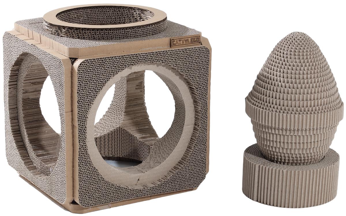 Когтеточка Petsweet, 37 x 37 x 34,5 см. PCT-2353PCT-2353Стильная когтеточка Petsweet поможет сохранить мебель и ковры в доме от когтей вашего любимца, стремящегося удовлетворить свою естественную потребность точить когти. Когтеточка изготовлена из качественного картона. Товар продуман в мельчайших деталях и, несомненно, понравится вашей кошке. Когтеточка представляет собой квадрат с отверстиями. Такое изделие имеет дополнено когтеточками различной формы, также выполненные из картона.Всем кошкам необходимо стачивать когти. Когтеточка - один из самых необходимых аксессуаров для кошки. Для приучения к когтеточке можно натереть ее сухой валерьянкой или кошачьей мятой. Размер квадратной когтеточки: 37 x 37 x 34,5 см. Диаметр овальной когтеточки: 65 см.Диаметр круглой когтеточки: 66,5 см.
