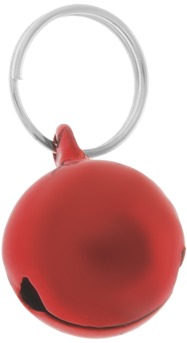 Бубенчик для кошки Trixie, диаметр 1,5 см, цвет: красный4160_красныйБубенчик для кошки Trixie выполнен из металла. Бубенчик предназначен для подвешивания на ошейник с помощью кольца.Бубенчик позволит контролировать нахождение питомца, а для уличных птиц он будет сигналом о приближении хищника и оберегать от нежелательного контакта.