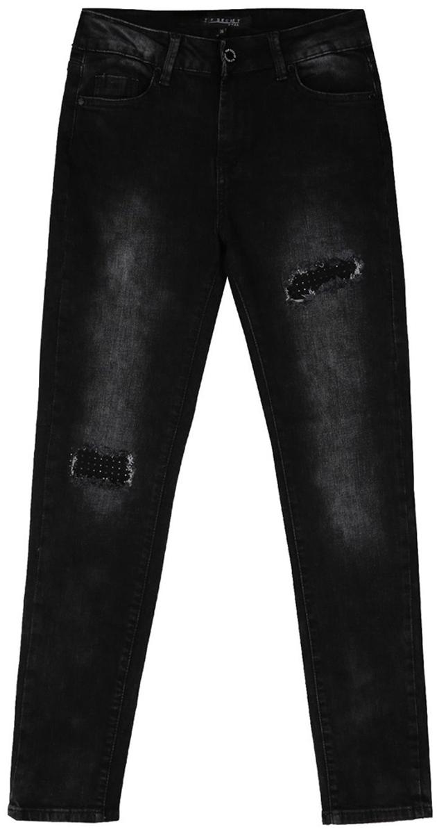 Джинсы женские Top Secret, цвет: темно-серый. SSP2667ST. Размер 40 (48) джинсы женские sandy lady sz 2015