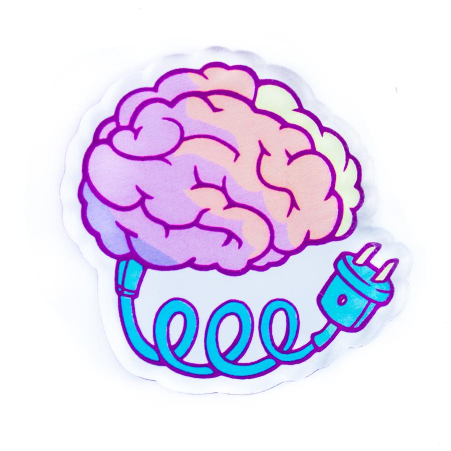 Брошь Markov.Design Заряди мозги1113121021Прикольная брошь Заряди мозги из прозрачного акрила станет отличным дополнением к стильному гардеробу – она легко крепится на любых вещах, делая твой внешний вид крутым, а одежду – модной.