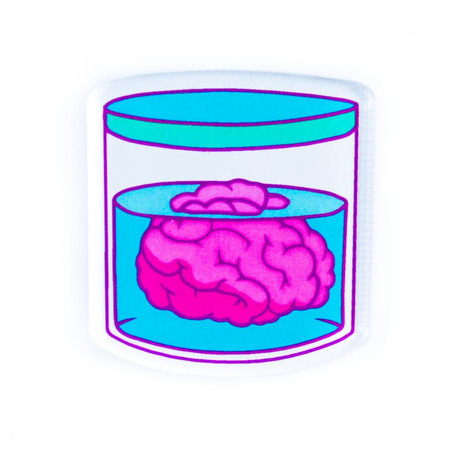 Брошь Markov.Design Мозги1113121027Забавная, позитивная брошь Мозги – отличный подарок для креативных, модных и стильных людей, которые знают, как проявить свою индивидуальность!