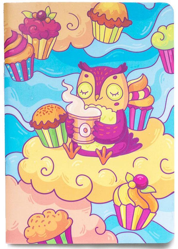 Markov.Design Скетчбук Чаепитие у совы4627138280010Мягкая обложка с потрясающим рисунком, плотные нелинованные листы, на которых удобно рисовать красками и маркерами – все это Скетчбук Чаепитие у совы. Плотность бумаги 100г/м2. Цвет листов: бежевый.