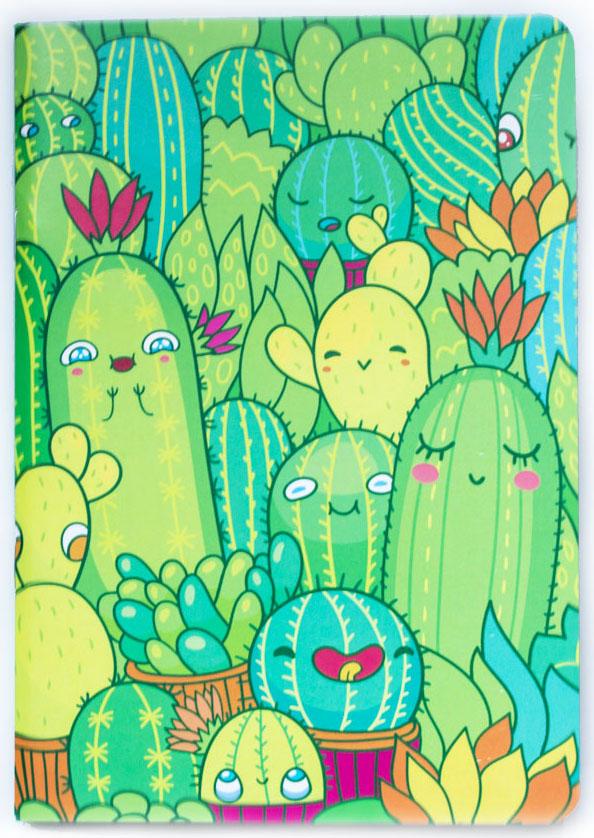 Markov.Design Скетчбук Кактусы4627138280034Удобный скетчбук с плотными нелинованными листами и яркой обложкой в зеленых тонах с рисунком Кактусы. Плотность бумаги 100г/м2. Цвет листов: бежевый.