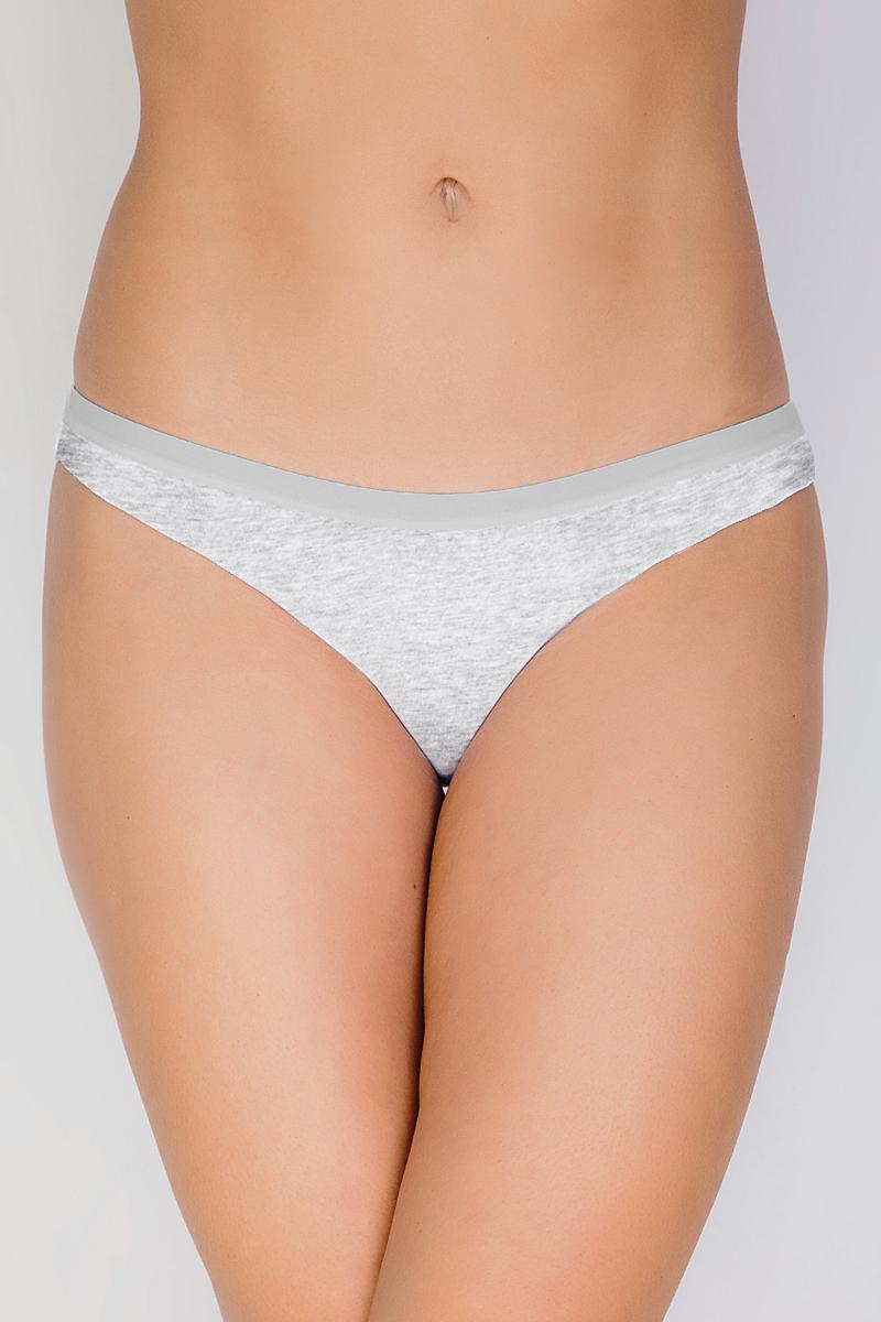 Купить Трусы-бразильяна женские Vis-A-Vis, цвет: серый. DSL1280. Размер XS (42)