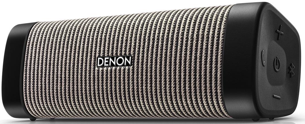 Denon Envaya DSB-50, Grey портативная акустическая системаDSB50BTBGEMПортативная водонепроницаемая акустика 12 Вт, Bluetooth aptX; NFC, USB вход, время работы до 10 ч, громкая связь, сумочка и USB кабель для зарядки в комплекте; 163 x 58 x 56 мм; 0,39 кг.Как выбрать портативную колонку. Статья OZON Гид