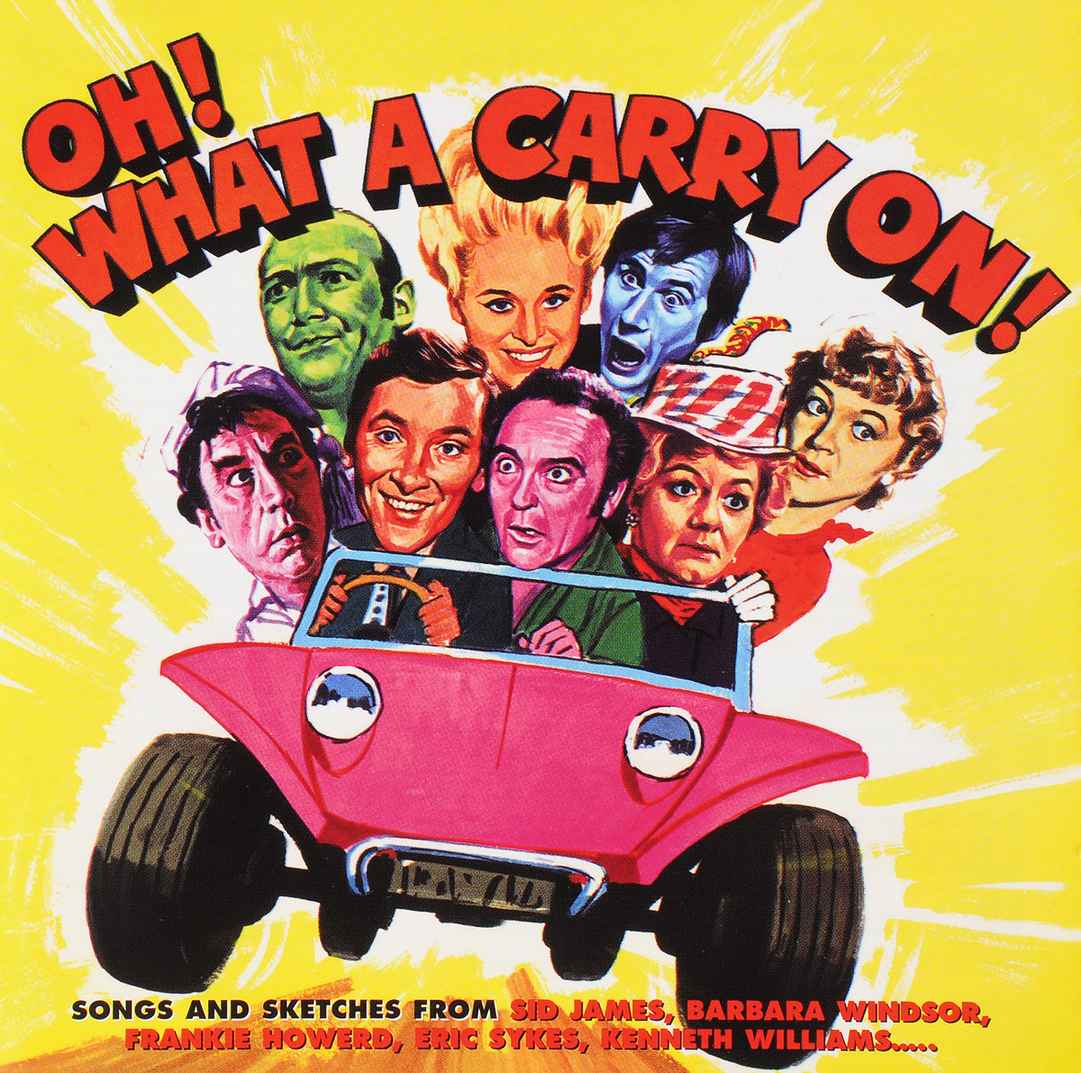VARIOUS ARTISTS. OH! WHAT A CARRY ON!
