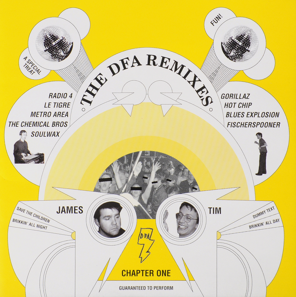 Zakazat.ru VARIOUS ARTISTS. THE DFA – REMIXES CHAPTER ONE