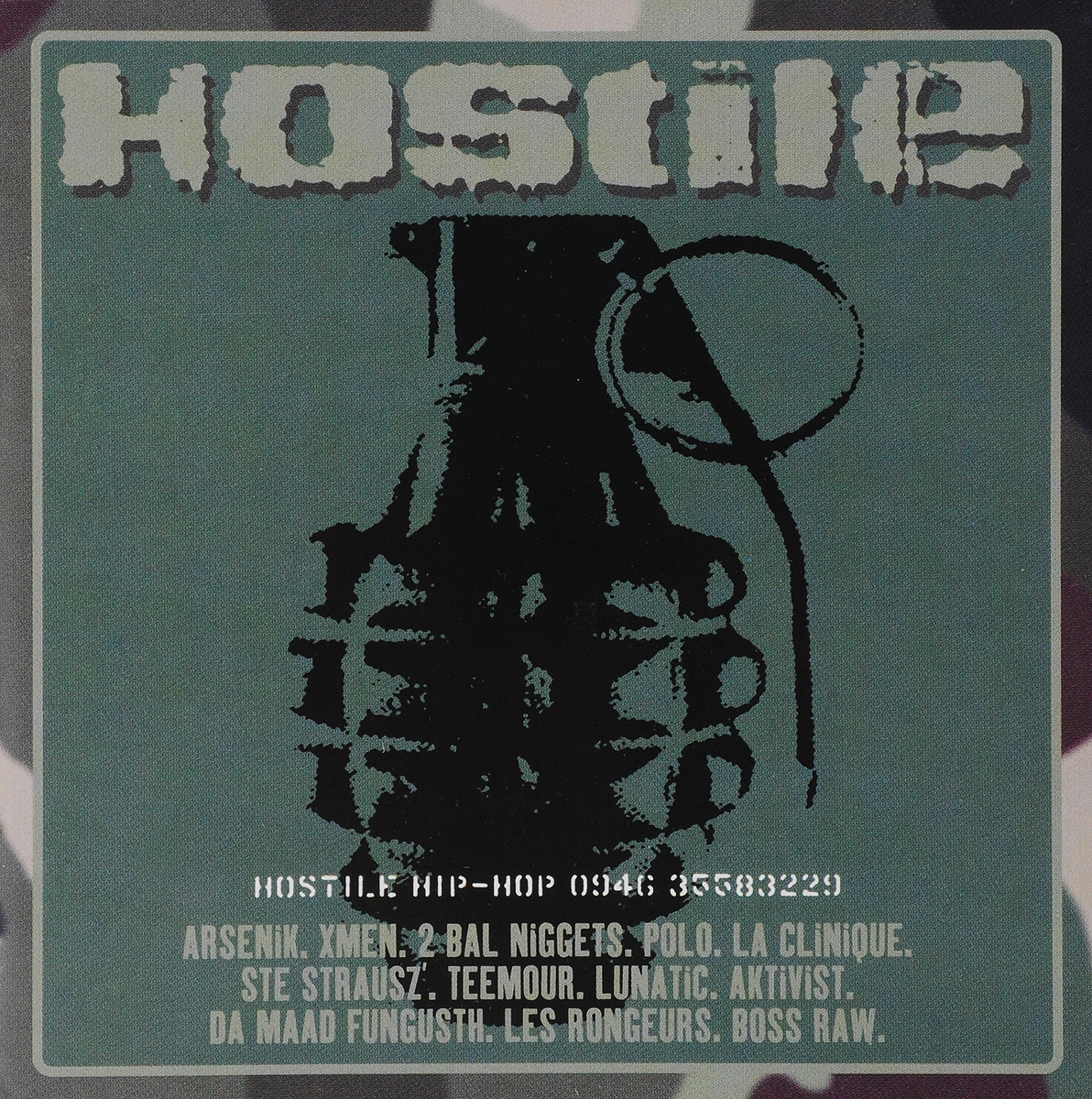 Zakazat.ru VARIOUS ARTISTS. HOSTILE HIP HOP (VERSION 2006)