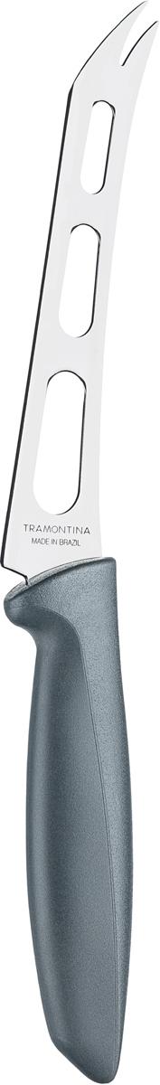 Нож для сыра Tramontina Plenus, цвет: серый, длина лезвия 15 см23429/066-TRБлагодаря уникальному методу закалки в несколько этапов:- термическая закалка от + 850°C до + 1 060°C; - охлаждение системой вентиляции до +350°C; - промораживание при -80°C в течение 30 минут; - нагревание газом от +250°C до +310°C сталь приобретает особую пластичность, коррозийно и жаростойкость, сохраняя твердость порядка 53 единиц по шкале Роквелла. Как результат, ножи TRAMONTINA требуют более редкой правки и заточки, что обеспечивает более долгий срок службы по сравнению с ножами из аналогичной стали других производителей. Воздушные подушки на лезвии позволяют ломтикам сыра не слипаться во время нарезки.Рукоятки серии Plenus выполнены из полипропилена, долговечны, выдерживают температуру до 130°C. Гарантия от производственного брака на ножи серии Plenus 3 года!Материал лезвия: нержавеющая сталь AISI 420Материал рукоятки: полипропиленДлина лезвия: 15 смСтрана производства: Бразилия