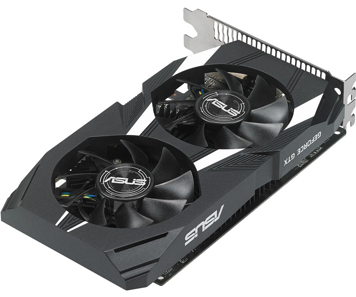 ASUS Dual GeForce GTX 1050 2GB видеокартаDUAL-GTX1050-2G-V2Видеокарта Asus PCI-E DUAL-GTX1050-2G-V2 NV GTX1050 2048Mb 128b GDDR5 1354/7008 DVIx1/HDMIx1/DPx1/HD