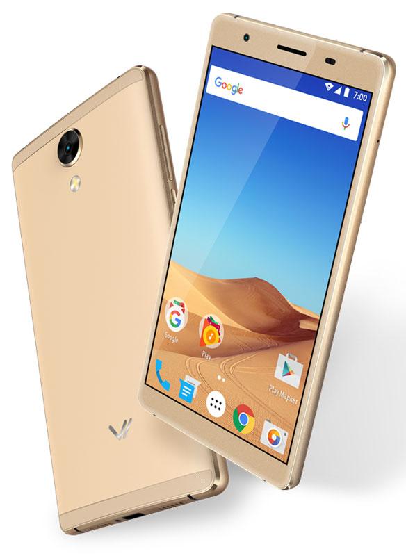 Vertex Impress Ra 4G, GoldVRX-RA-GOLDСмартфон Vertex Impress Ra - это функциональный 4G смартфон в компактном корпусе с экраном 5,25 дюймов.Благодаря 4-х ядерному процессору модель Impress Ra отлично подходит для решения повседневных задач. Мощность процессора обеспечивает бесперебойную работу операционной системы и установленных приложений. Для повышения работоспособности смартфона и увеличения объема памяти можно использовать microSD карт емкостью до 32 ГБ.Смартфон Impress Ra оснащен большим ярким IPS экраном размером 5,25 дюймов с технологией On-Cell и разрешением HD. При этом корпус смартфона очень компактный (размер корпуса сравним с 4,5 дюймовым смартфоном), благодаря чему модель проста и удобна в использовании. Яркий экран позволяет максимально комфортно использовать возможности модели. IPS-матрица дисплея обеспечивает широкие углы обзора, а также высокую контрастность изображений и качественную цветопередачу.Смартфон получил операционную систему Android 7.0 Nougat. ОС стала еще более функциональной и удобной для пользователя. В Android 7.0 появляется ряд дополнительных возможностей и режимов работы, в большей степени ориентированных на пользователя. Наличие двух камер 8 МП и 2 МП дает возможность делать фото, снимать видео, совершать видеозвонки, общаться в Skype. Дополнительные преимущества основной камеры: светодиодная вспышка.Телефон сертифицирован EAC и имеет русифицированный интерфейс меню и Руководство пользователя.