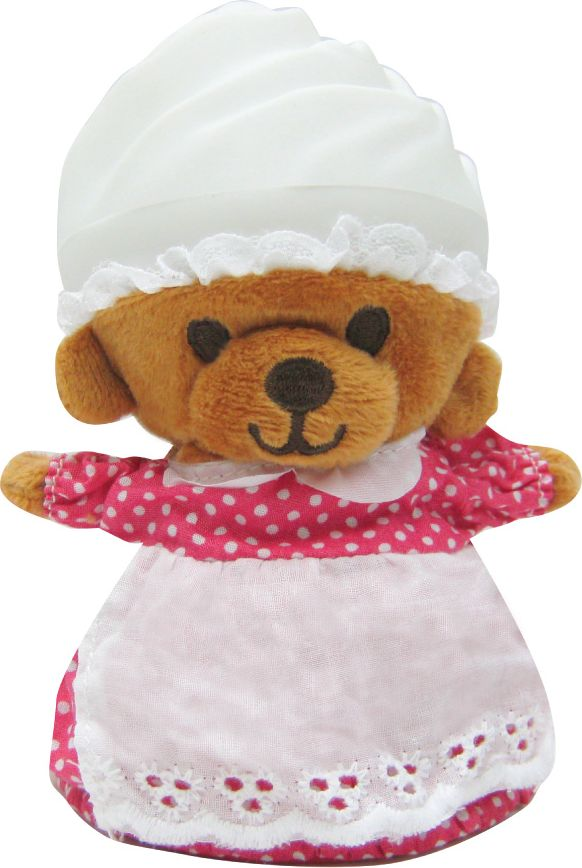 Cupcake Bears Мягкая игрушка Полли 9 см мягкие игрушки dream makers медвежонок в капкейке cupcake bears лололи