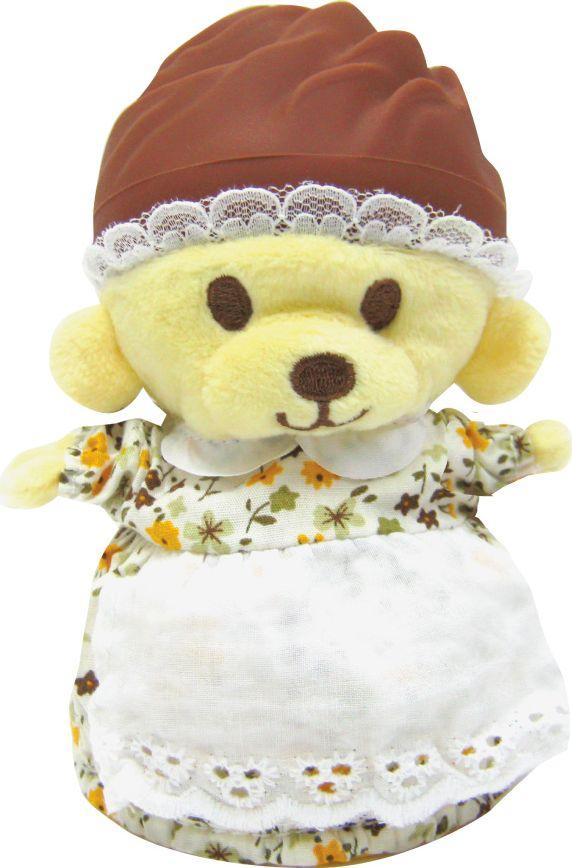 Cupcake Bears Мягкая игрушка Флора 9 см мягкие игрушки dream makers медвежонок в капкейке cupcake bears лололи