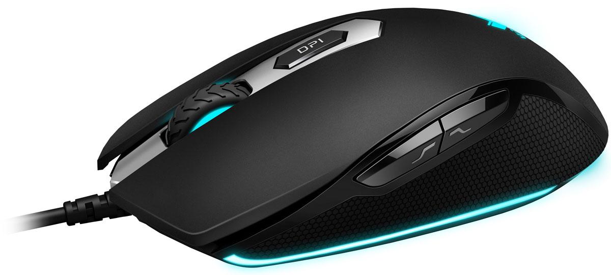 Rapoo V210, Blackигровая мышь RAPOO