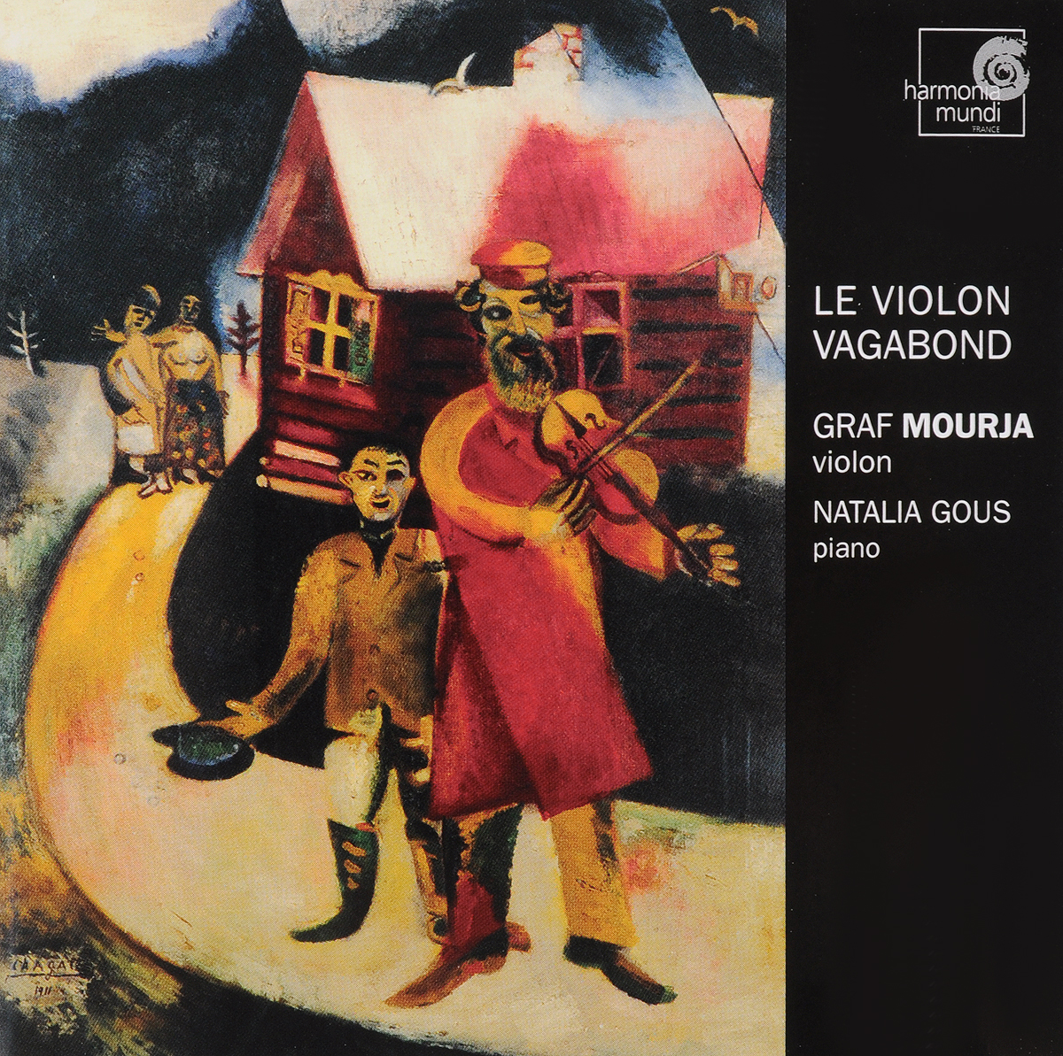 VARIOUS. THE VAGABOND VIOLIN/MOURJA, ./GOUS, .. 1