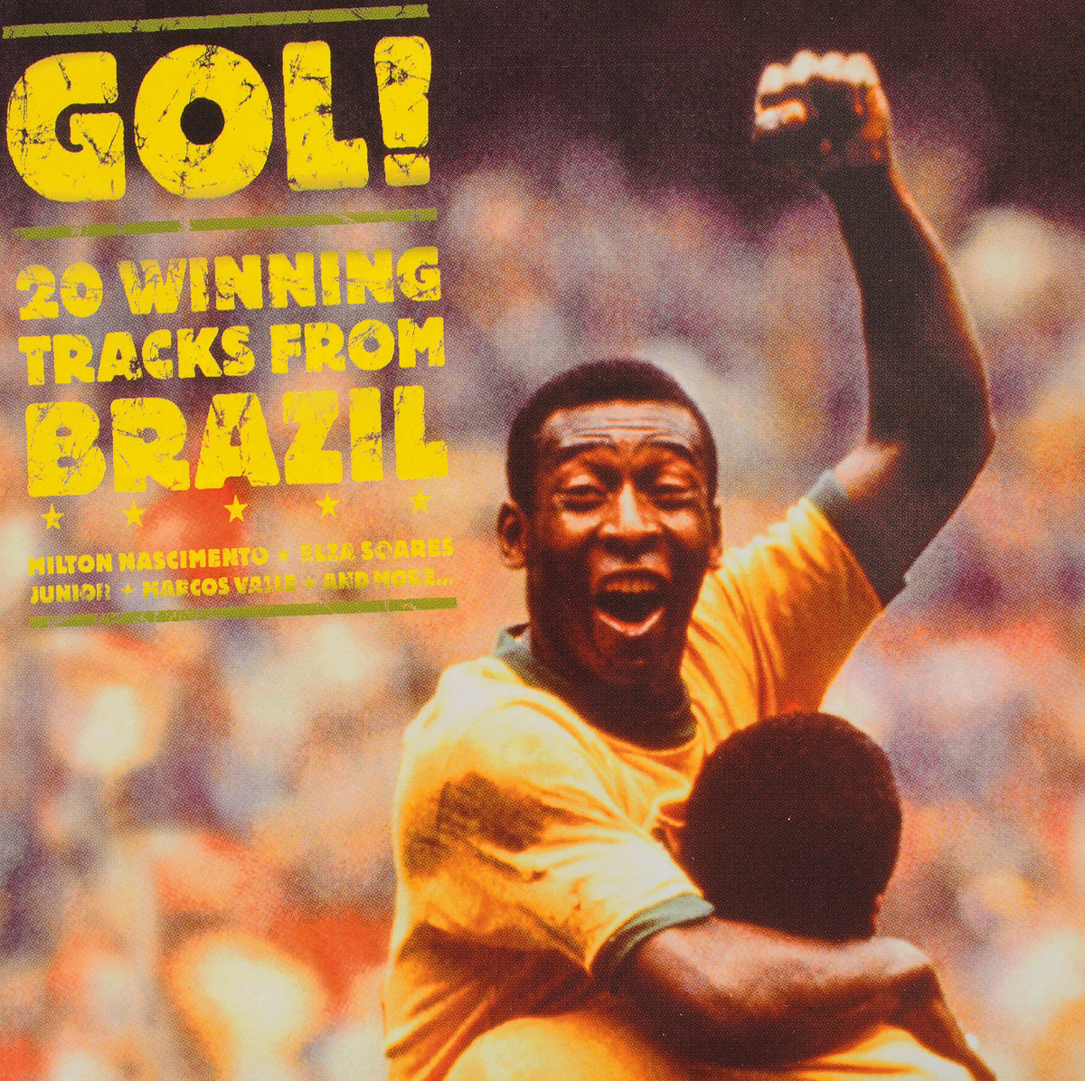 VARIOUS ARTISTS. GOL! 20 WINNING TRACKS FROM BRAZIL various artists dj cutlass supreme presents uk bass
