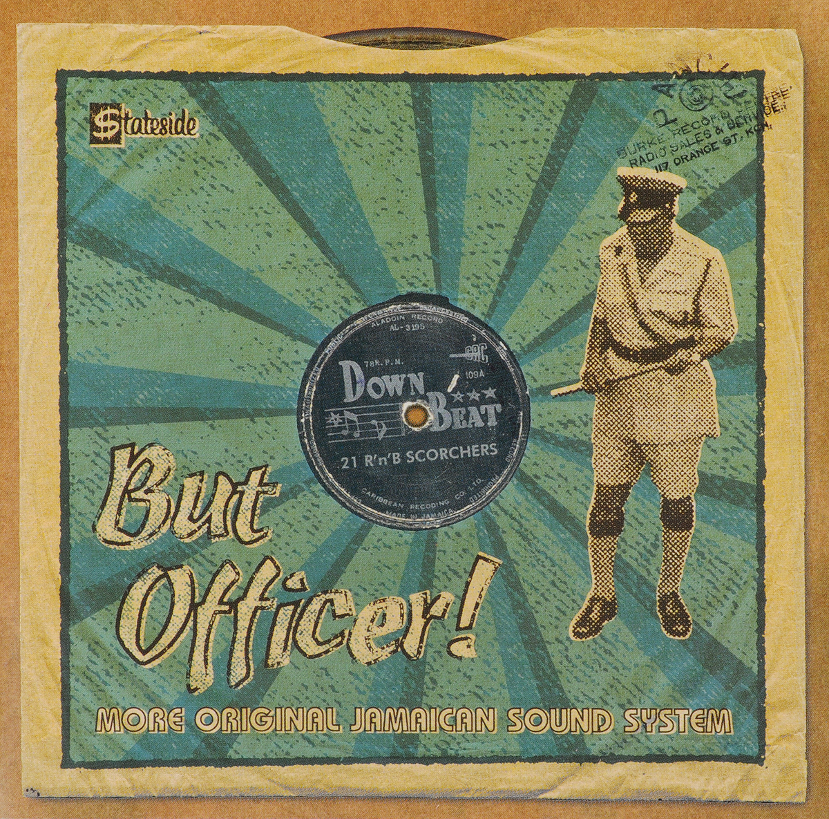 VARIOUS ARTISTS. BUT OFFICER! MORE ORIGINAL JAMAICAN SOUND SYSTEM