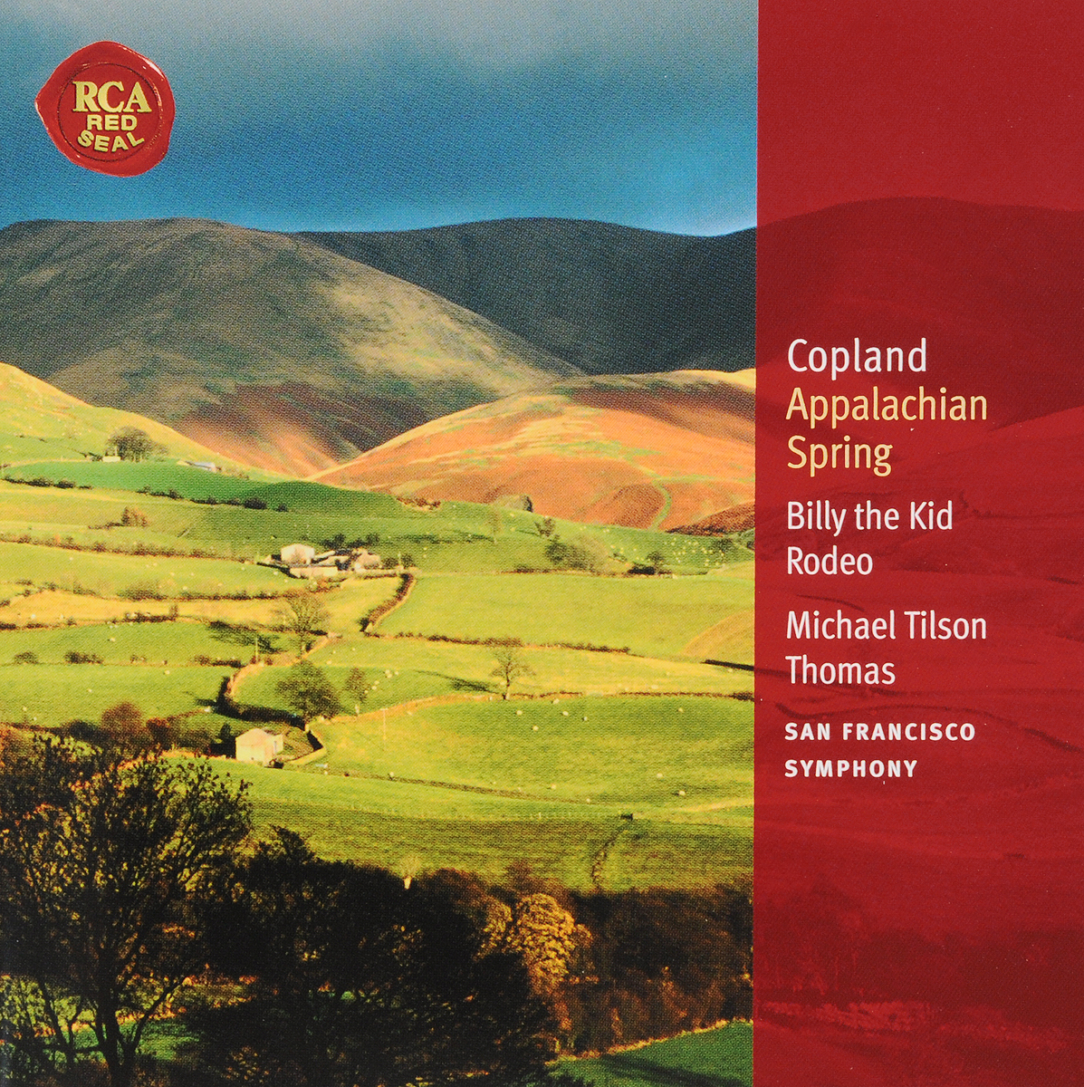 Майкл Томас Thomas, Michael Tilson. Copland: Appalachian Spring; Billy the K k piston ring seal combination 360 335 50 8