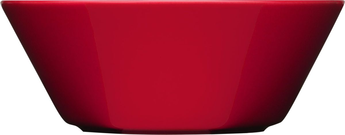 Пиала Iittala Teema, цвет: красный, диаметр 15 см1006012Пиала Iittala Teema изготовлена из высококачественного фарфора. Изделие прекрасноподойдет для подачи салата или мороженого. Благодаря уникальному дизайну такая пиаластанет бесспорным украшением вашего стола.Teema - это классика дизайна Iittala, каждый продукт имеет чёткие геометрические формы: круг,квадрат и прямоугольник. Как говорит Кай Франк: «Цвет является единственным украшением».Посуда серии Teema является универсальной, её можно комбинировать с любой серией Iittala. Онапрактична и лаконична.