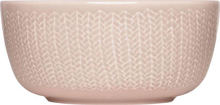 Пиала Iittala Sarjaton, цвет: розовый, 680 мл1016398Sarjaton является результатом сотрудничества талантливых дизайнеров из моды, графики и цифрового дизайна, которых объединило общее видение финских традиций в современном виде.