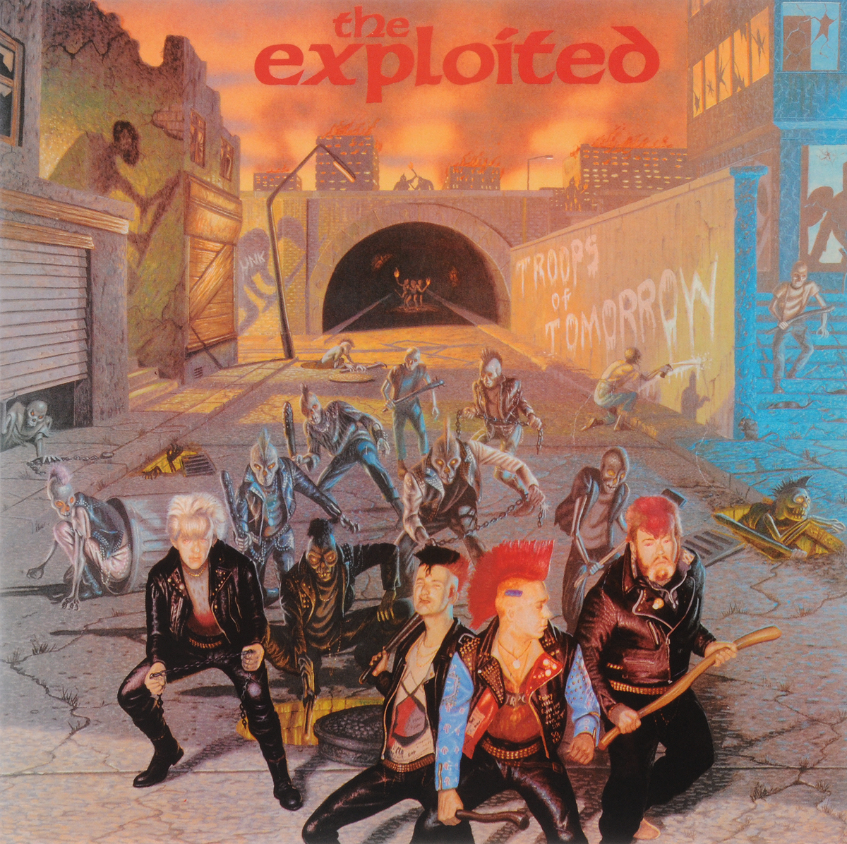 The Exploited Exploited. Troops Of Tomorrow (LP) radiation detection