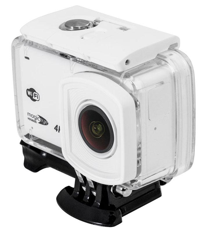 Gmini MagicEye HDS8000, White экшн-камера506315Gmini MagicEye HDS8000 - портативная экшн-камера с возможностью записи в формате 4K/Full HD 1080p с частотой 24/60 кадров в секунду, 2,45 сенсорным LCD дисплеем, управлением съемкой по WiFi и распознаванием жестов.Ускоряйте и замедляйте время! Масксимальная скорость съемки 120 к/с позволяет снимать красивые кадры в режиме замедленной съемки, а встроенная функция Timelapse собирает в ускоренное видео снятые с настраиваемым интервалом кадры.Настраивать камеру и просматривать отснятый материал теперь еще легче, благодаря широкому сенсорному экрану диагональю 2,45 с поддержкой управления жестами.Встроенный стабилизатор изображения позволяет получать идеальную картинку в динамично меняющихся условиях. Как выбрать экшн-камеру. Статья OZON Гид