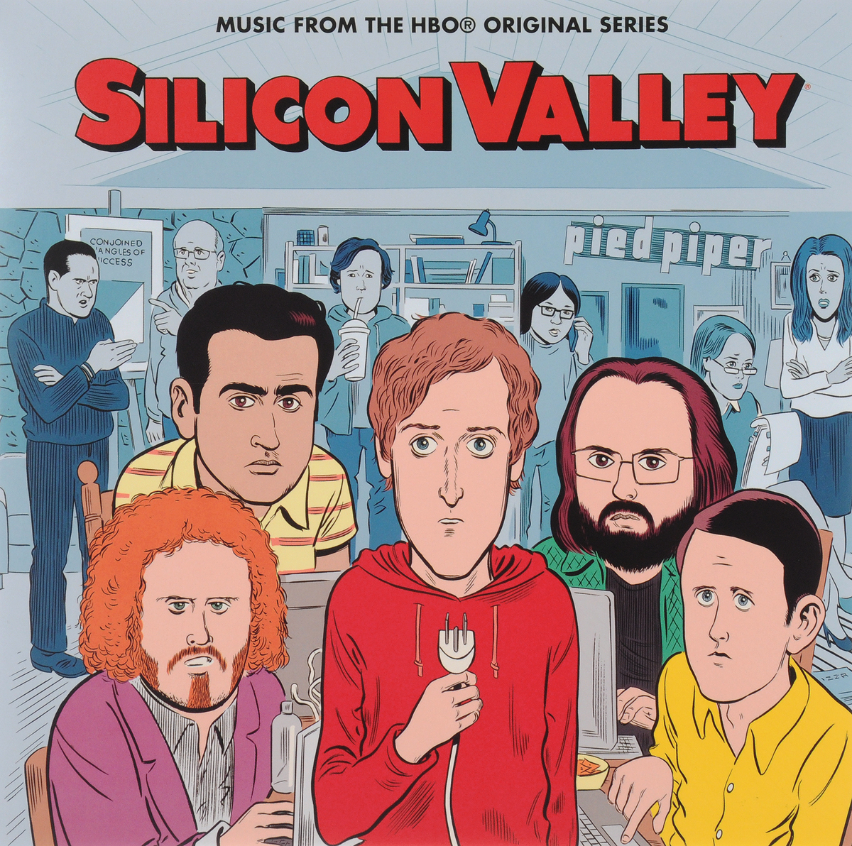 Silicon Valley: The Soundtrack (Colored Vinyl) (LP) rock mass classification