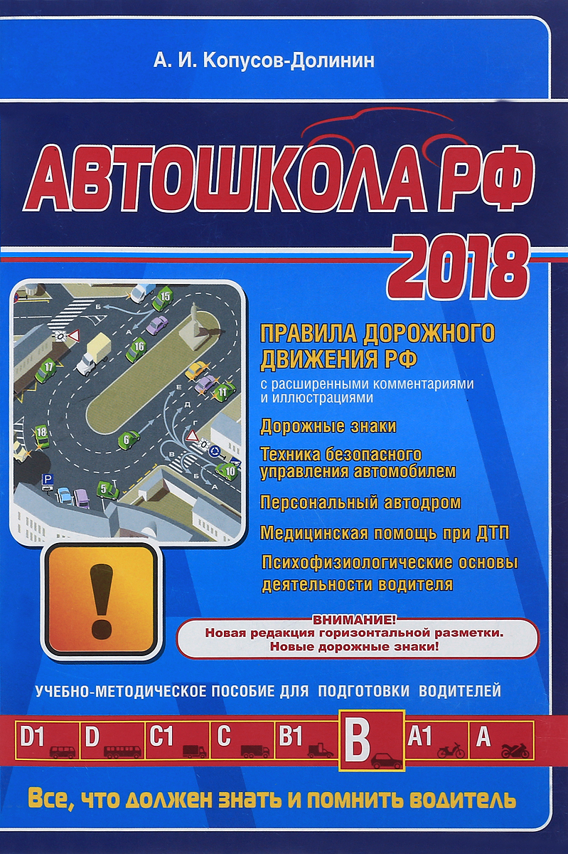 А. И. Копусов-Долинин Автошкола 2018