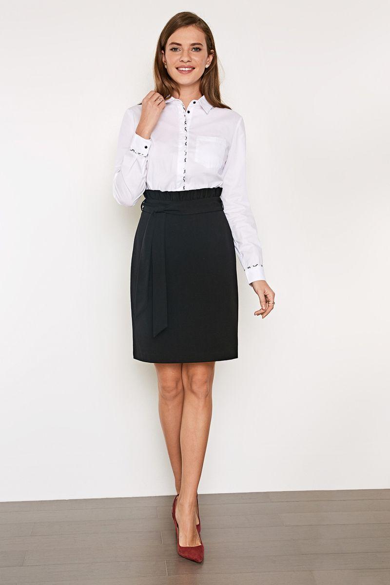 Блузка женская Concept Club Cowa 11, цвет: белый. 10200260216_200. Размер XXS (40)10200260216_200