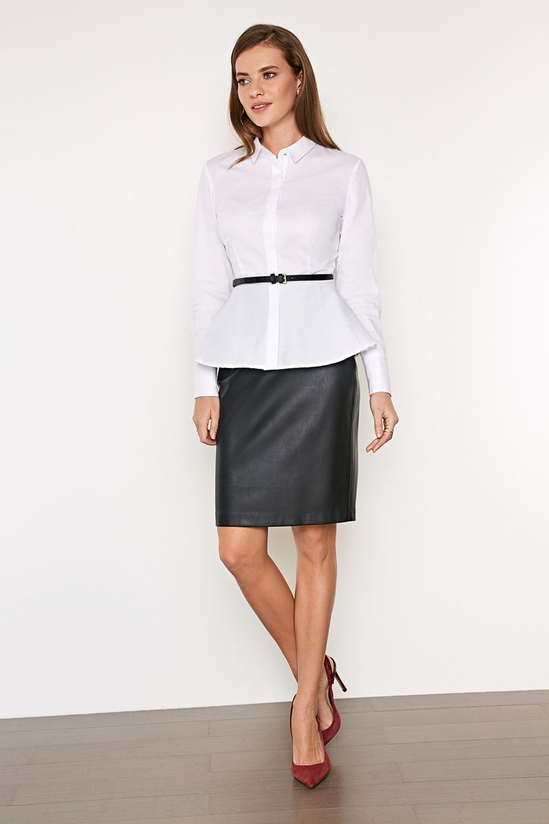 Блузка женская Concept Club Lore 2, цвет: белый. 10200260220_200. Размер XS (42)10200260220_200