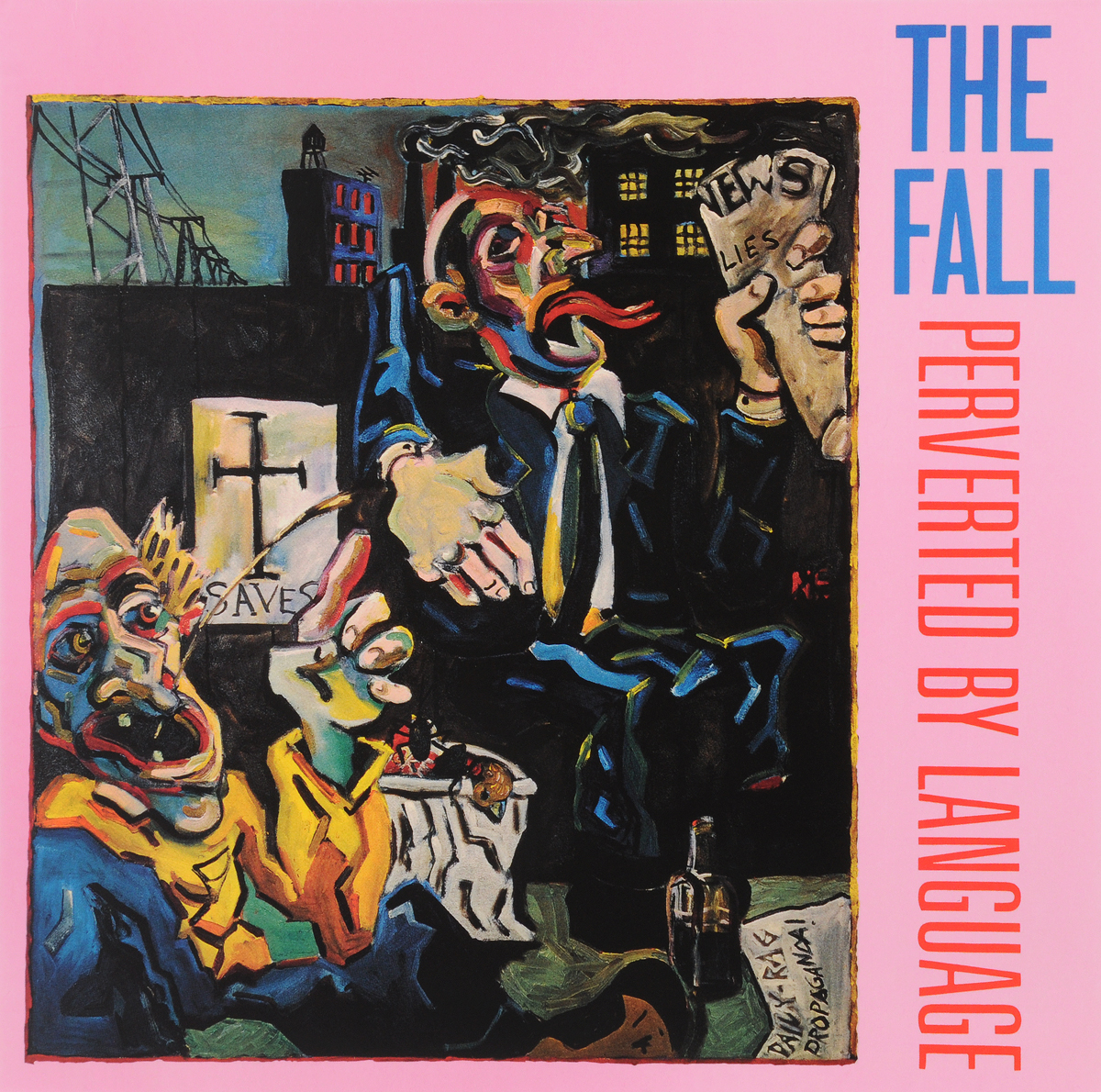 The Fall. Perverted By Language (LP)