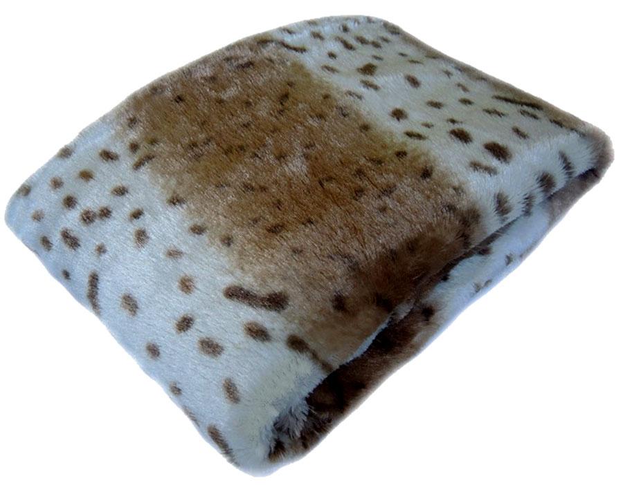 Плед Arloni Снежный барс, 150 x 200 см. О-12-4 плед arloni снежный барс 150 x 200 см о 12 4