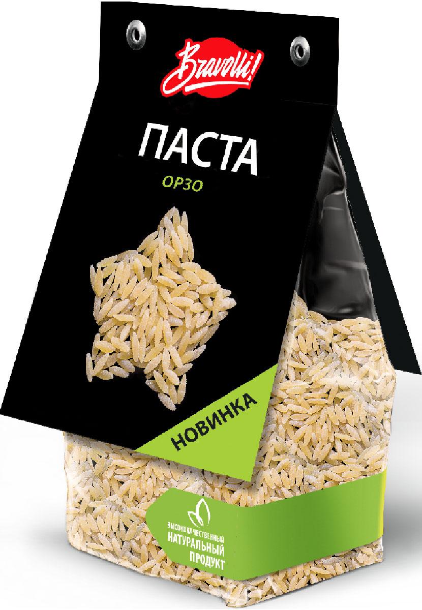 Bravolli паста орзо, 350 г bravolli жасмин рис 500 г