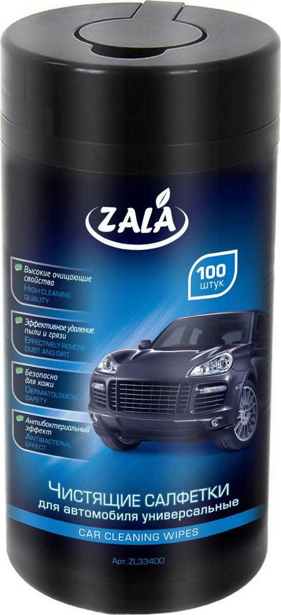 Чистящие салфетки для всех поверхностей автомобиля универсальныеZala, 100 штZL33400Чистящие салфетки ZALA для автомобиля универсальные. Влажные салфетки из крепированной бумаги, эффективно очищают автомобильные поверхности от загрязнений. Обладают антибактериальным эффектом, безопасны для кожи. С высокие очищающими свойствами. Состав: Салфетка из крепированной бумаги или нетканого материала, вода, ПАВ, стабилизатор, отдушка. Как выбрать качественную бытовую химию, безопасную для природы и людей. Статья OZON Гид