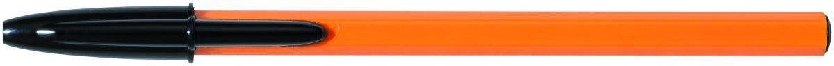Bic Ручка шариковая Orange Fine чернаяB8099231Одноразовая шариковая ручка BIC Cristal Orange. Пишет в 2 раза дольше, чем другие шариковые ручки. Корпус - пластик характерного оранжевого цвета позволяет легко идентифицировать Orange среди других ручек. Мягкий резиновый грип для комфортного письма. Вентилируемый колпачок.Тонкая линия письма - 0,36 мм.