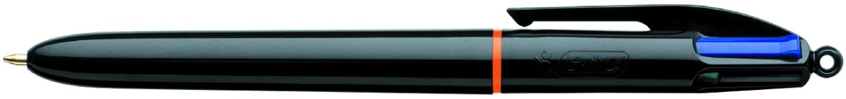Bic Ручка шариковая Colours Pro 4 цветаB902129Автоматическая шариковая ручка с несколькими стержнями разных цветов 4 Colors Pro. Удобно в случаях, когда необходимо под рукой иметь несколько ручек разного цвета. Корпус - черный пластик. Диаметр пишущего узла - 1 мм. 4 цвета в одной ручке: черные, синие, красные и зеленые чернила. Максимальная длина письма - 8 км. Блестящий черный корпус придает изысканный вид. Шарик диаметром 1 мм позволяет чертить красивые линии толщиной 0,32 мм.